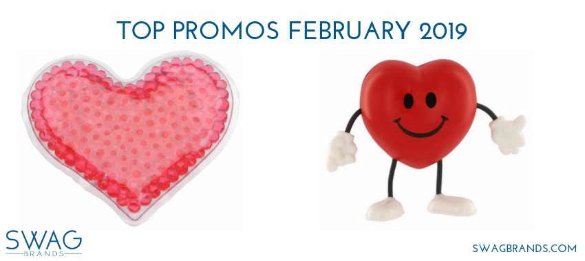 TOP PROMO ITEMS FEBRUARY 2019