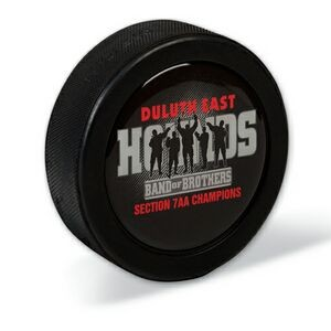Domed Vinyl Hockey Puck